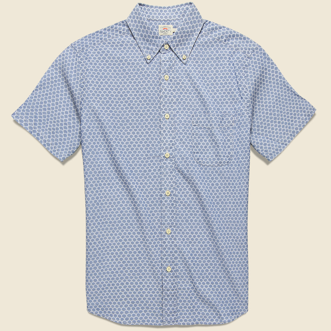 Faherty Pacific Shirt - Fishscale Redux
