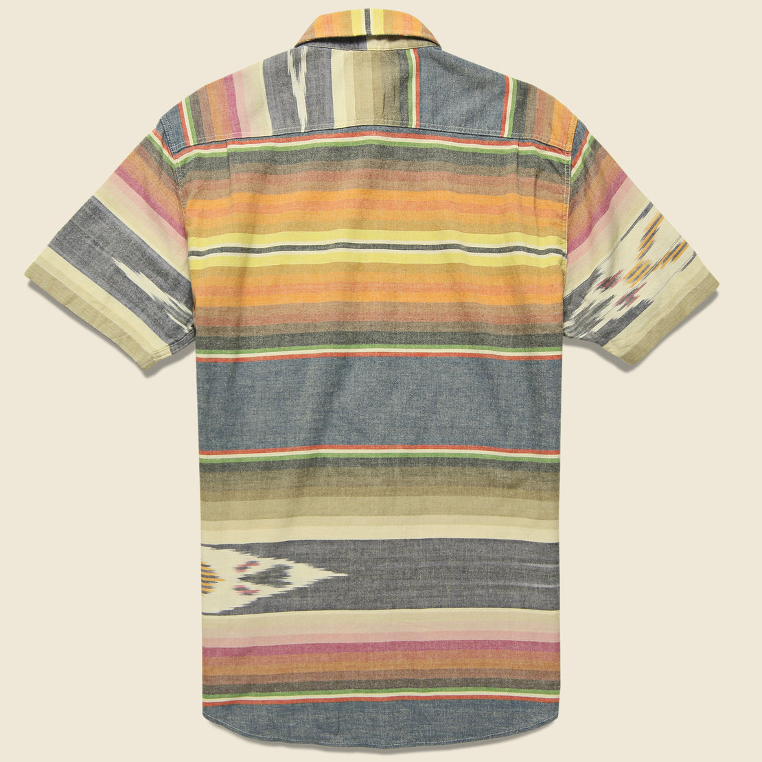 Ikat Coast Shirt - Multi