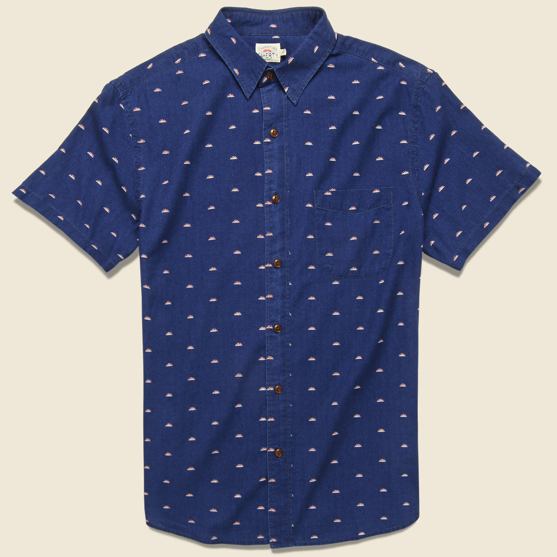 Faherty Coast Shirt - Sunrise Indigo