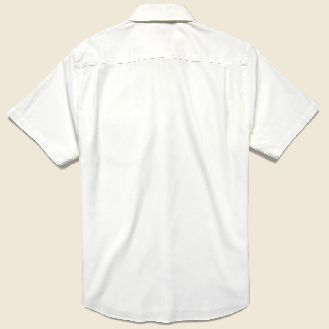 Stretch Oxford Shirt - White