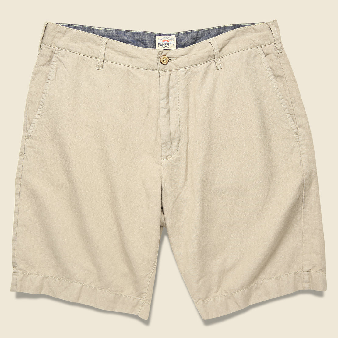 Faherty Malibu Short - Khaki