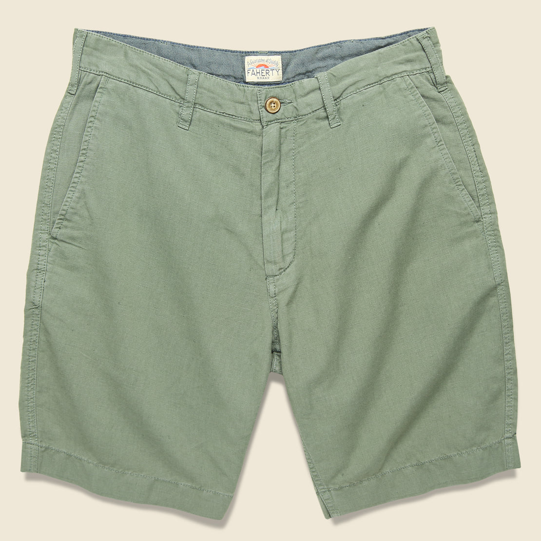 Faherty Malibu Short - Summer Olive