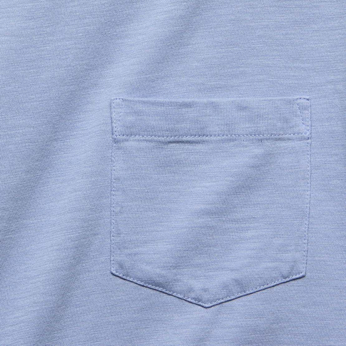 Garment Dyed Pocket Tee - Lilac