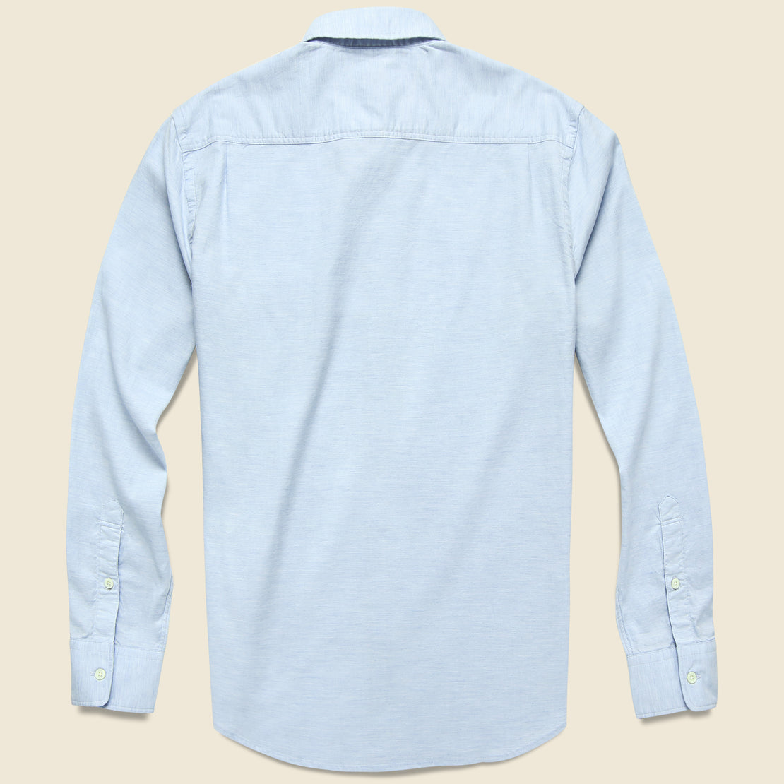Stretch Oxford Shirt - Washed Blue