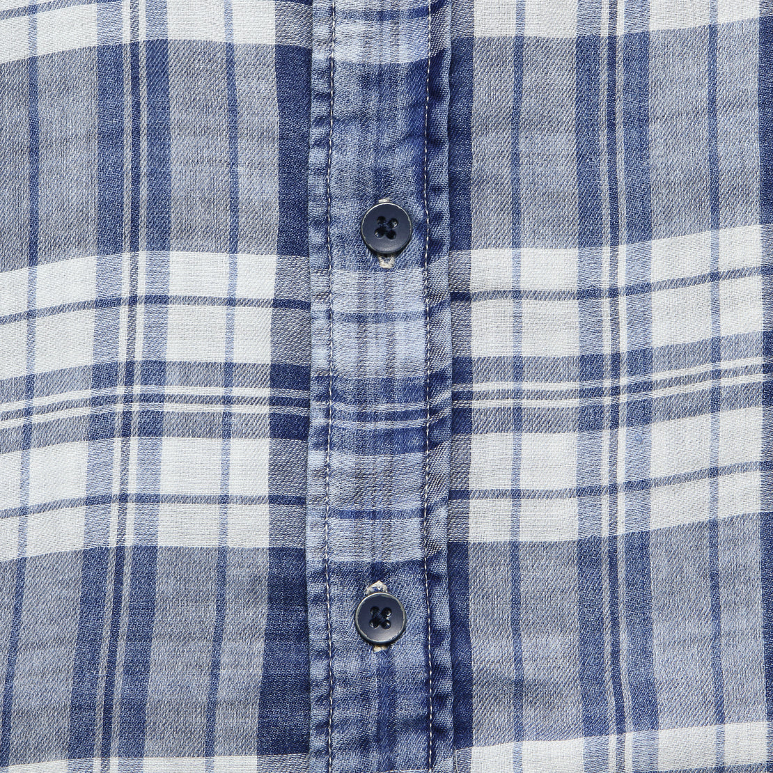 Indigo Seaview Shirt - Nautilus Plaid