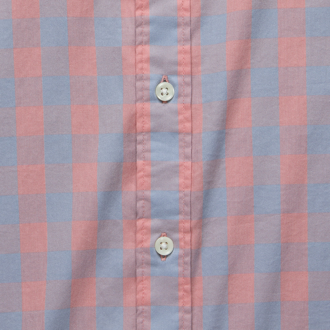 Movement Shirt - Blue/Rose Check