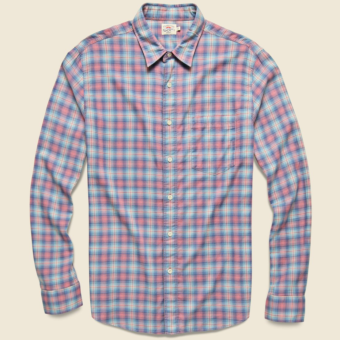 Faherty Everyday Shirt - Summerland Plaid