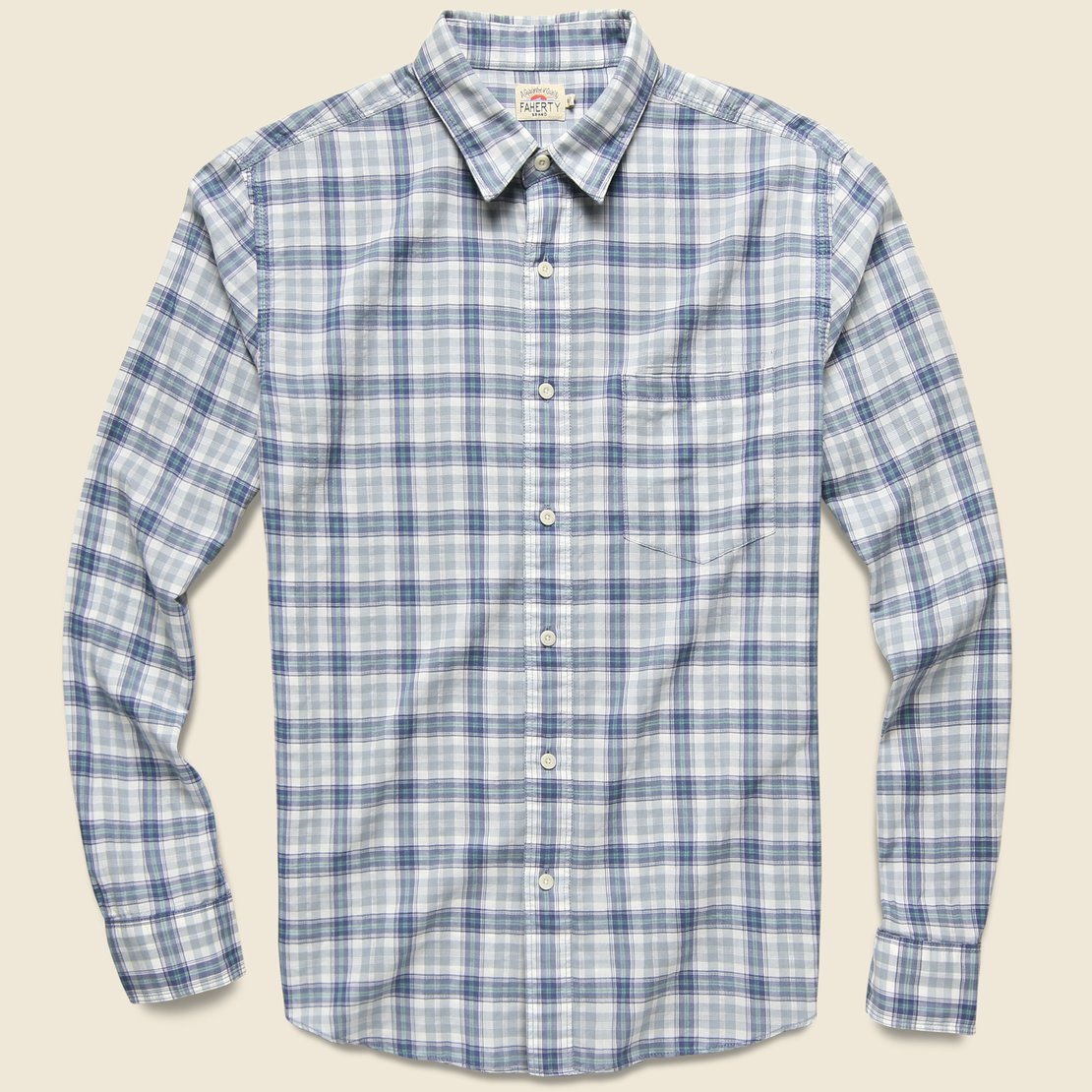 Faherty Everyday Shirt - Acadia Plaid