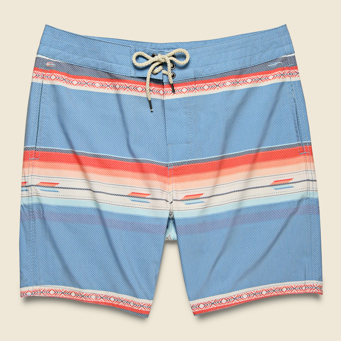 "Faherty Classic 7"" Boardshort - Sunset Arrow Redux"