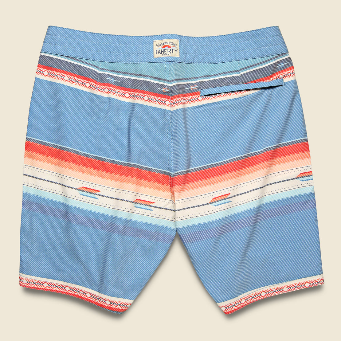 "Classic 7"" Boardshort - Sunset Arrow Redux"