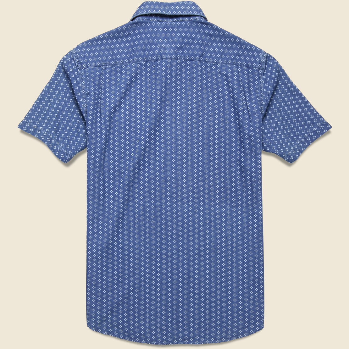 Playa Shirt - Eco Indigo Geo