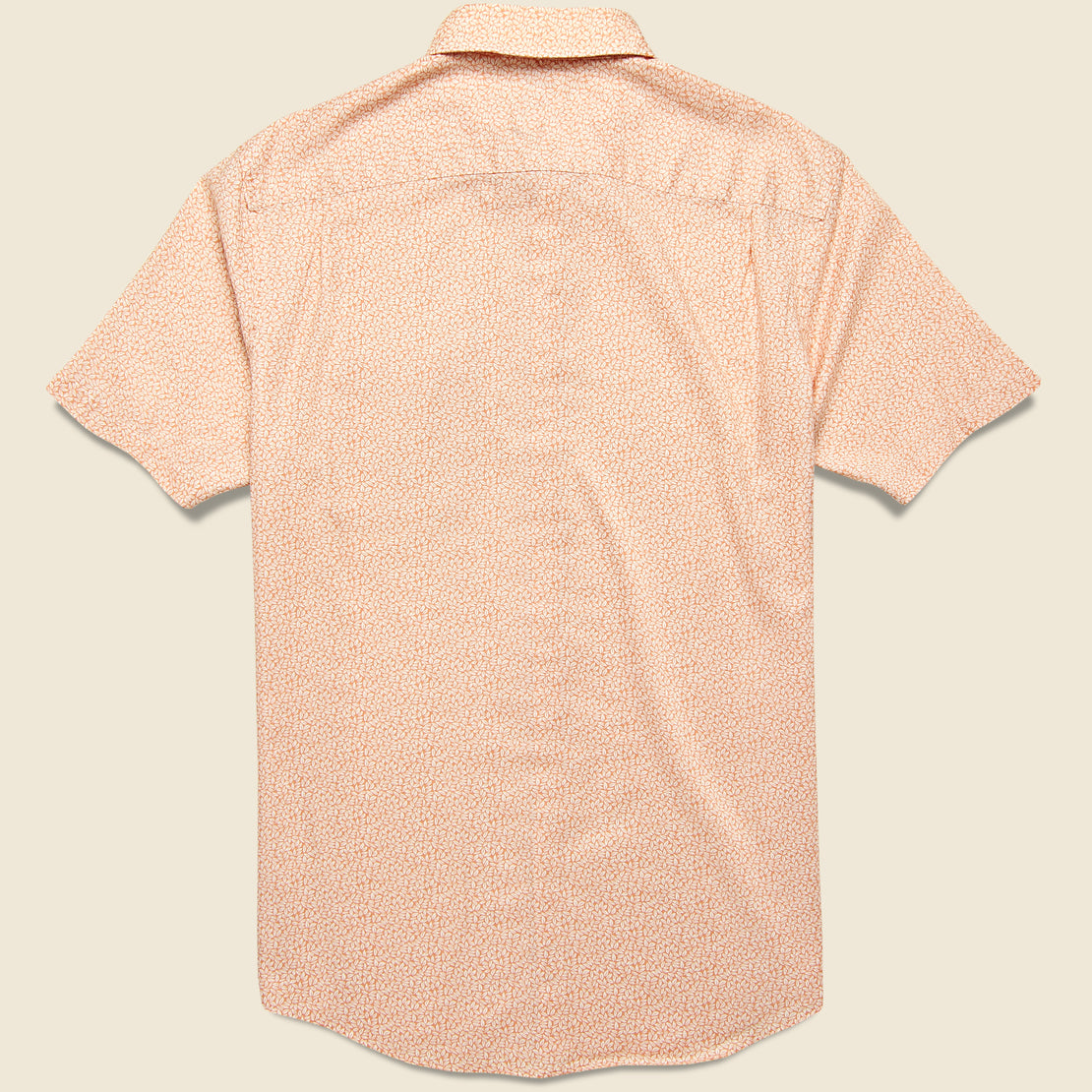 Playa Shirt - Faded Clay Leaf Print