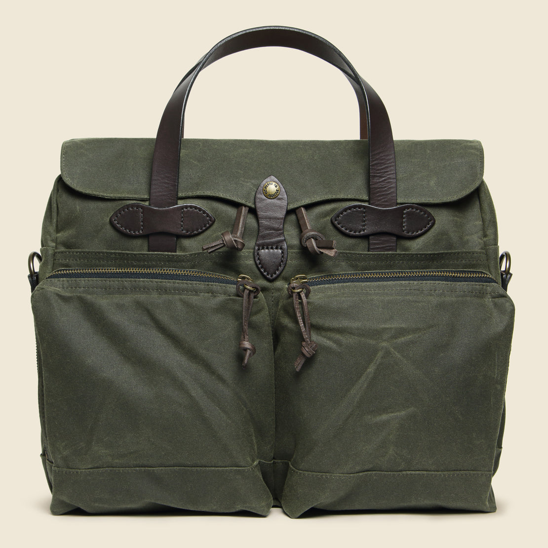 Filson 24 Hour Tin Briefcase - Otter Green