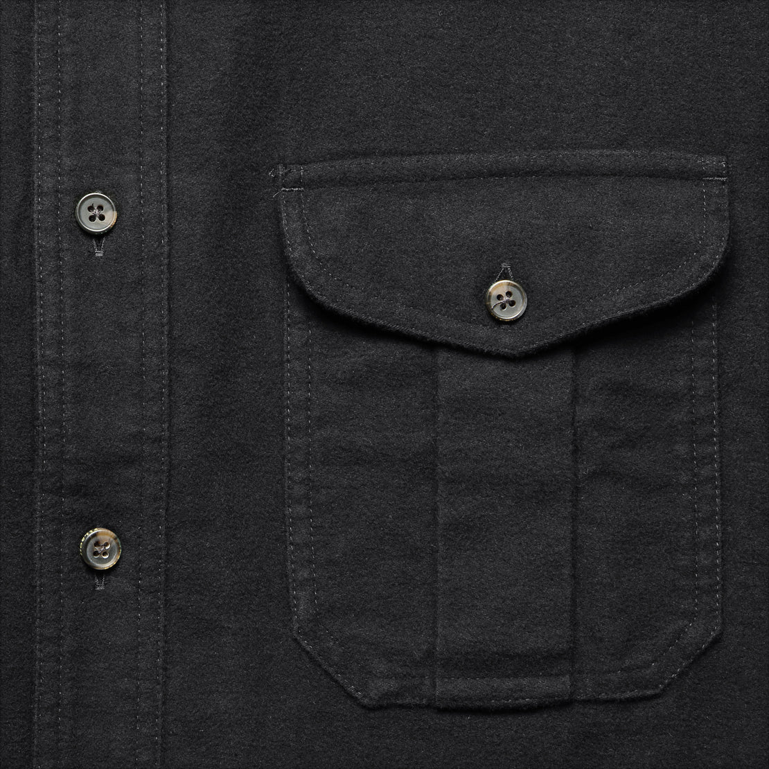 Moleskin Seattle Shirt - Black