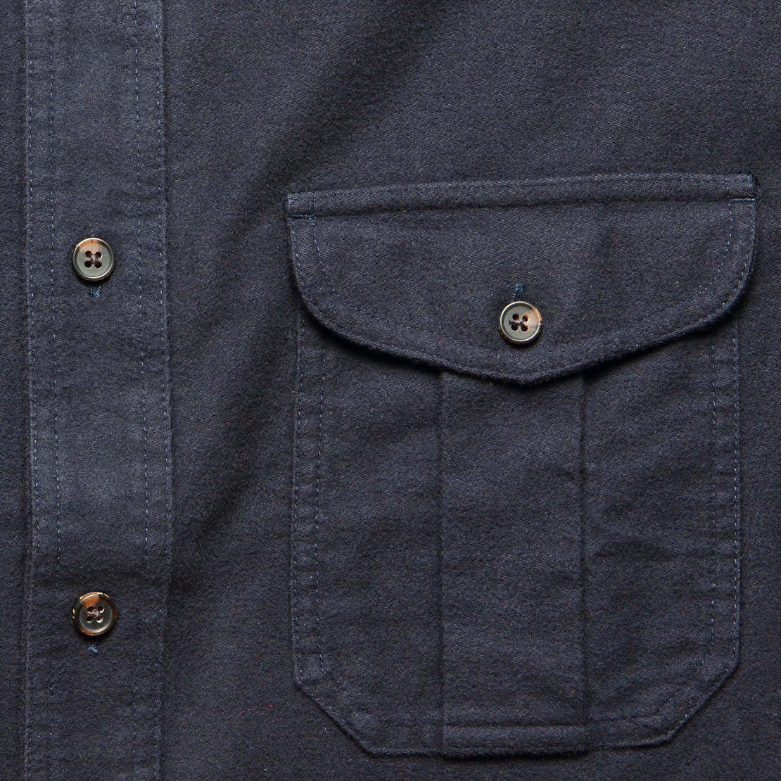 Moleskin Seattle Shirt - Navy
