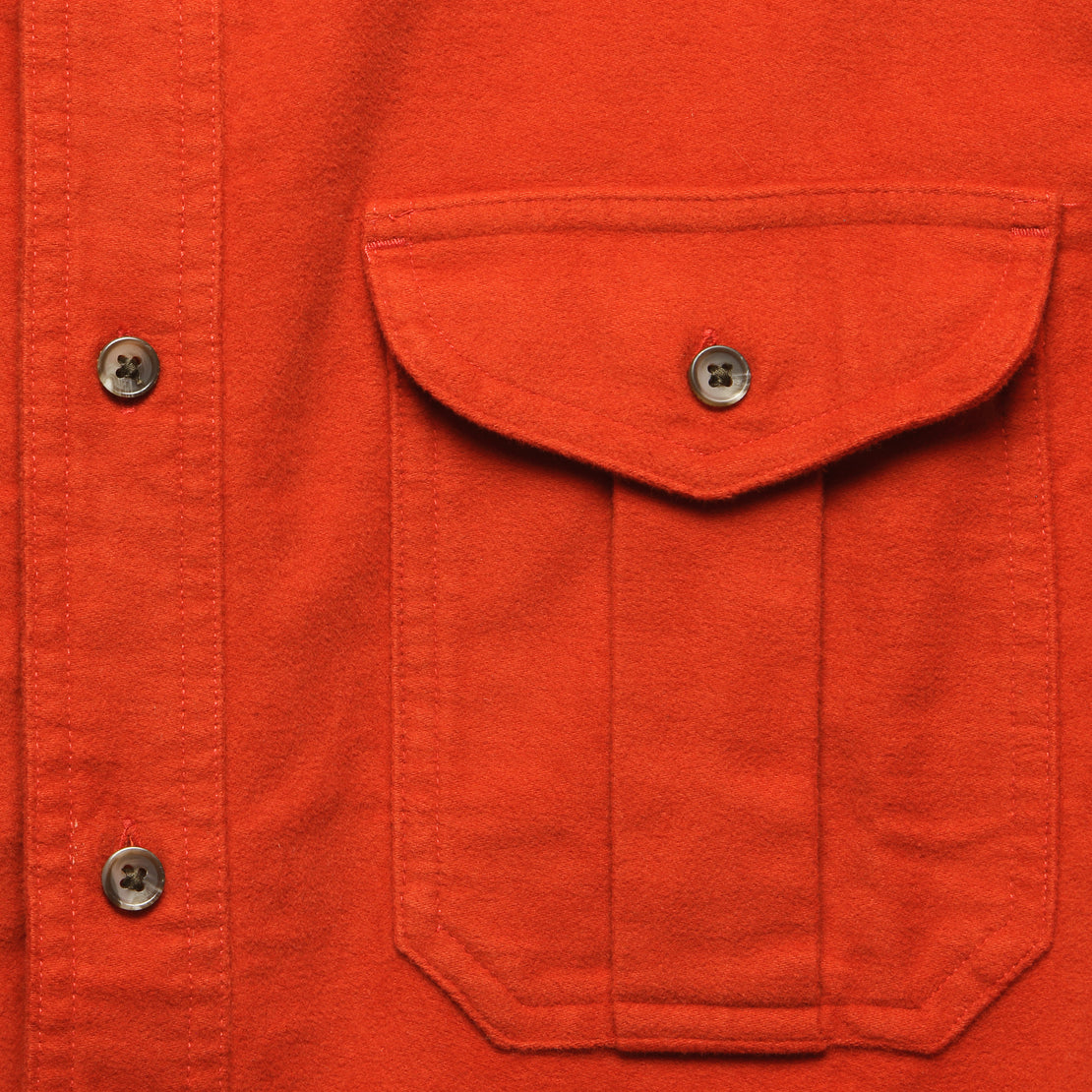 Moleskin Seattle Shirt - Burnt Orange