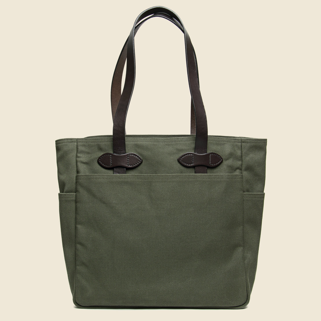 Filson Rugged Twill Tote Bag - Otter Green