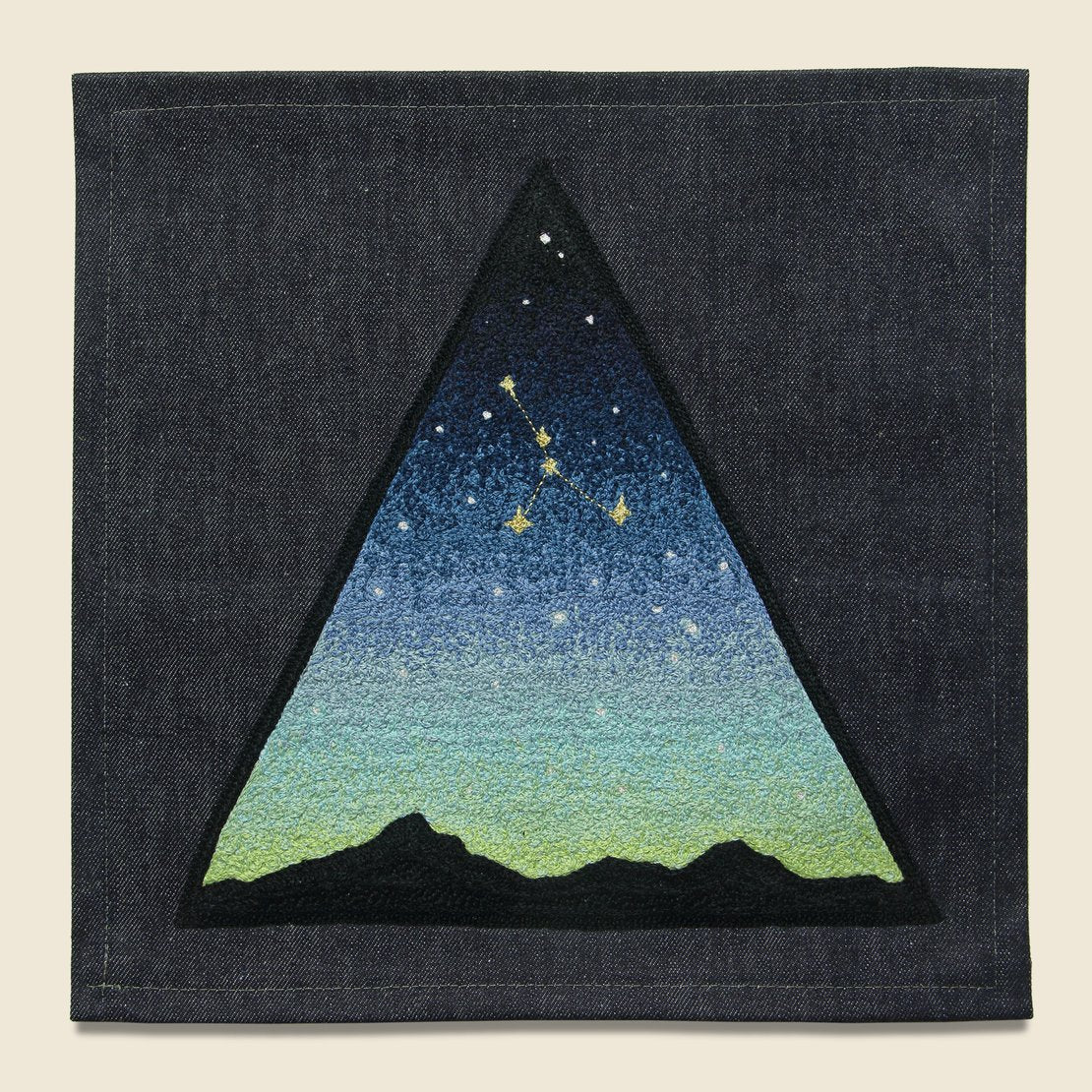Fort Lonesome Large Direct Stitch Embroidery - Twilight Stargaze Constellation
