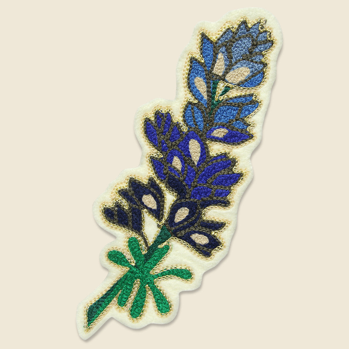 Fort Lonesome Patch - Bluebonnet