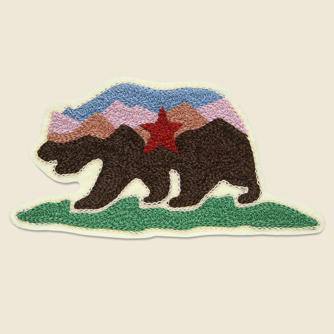 Fort Lonesome Patch - California Bear