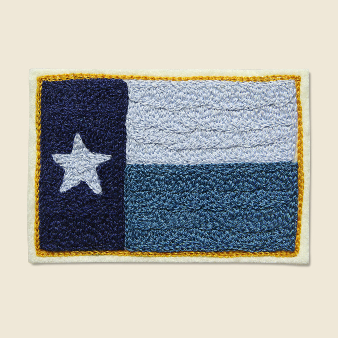 Fort Lonesome Patch - Texas Flag