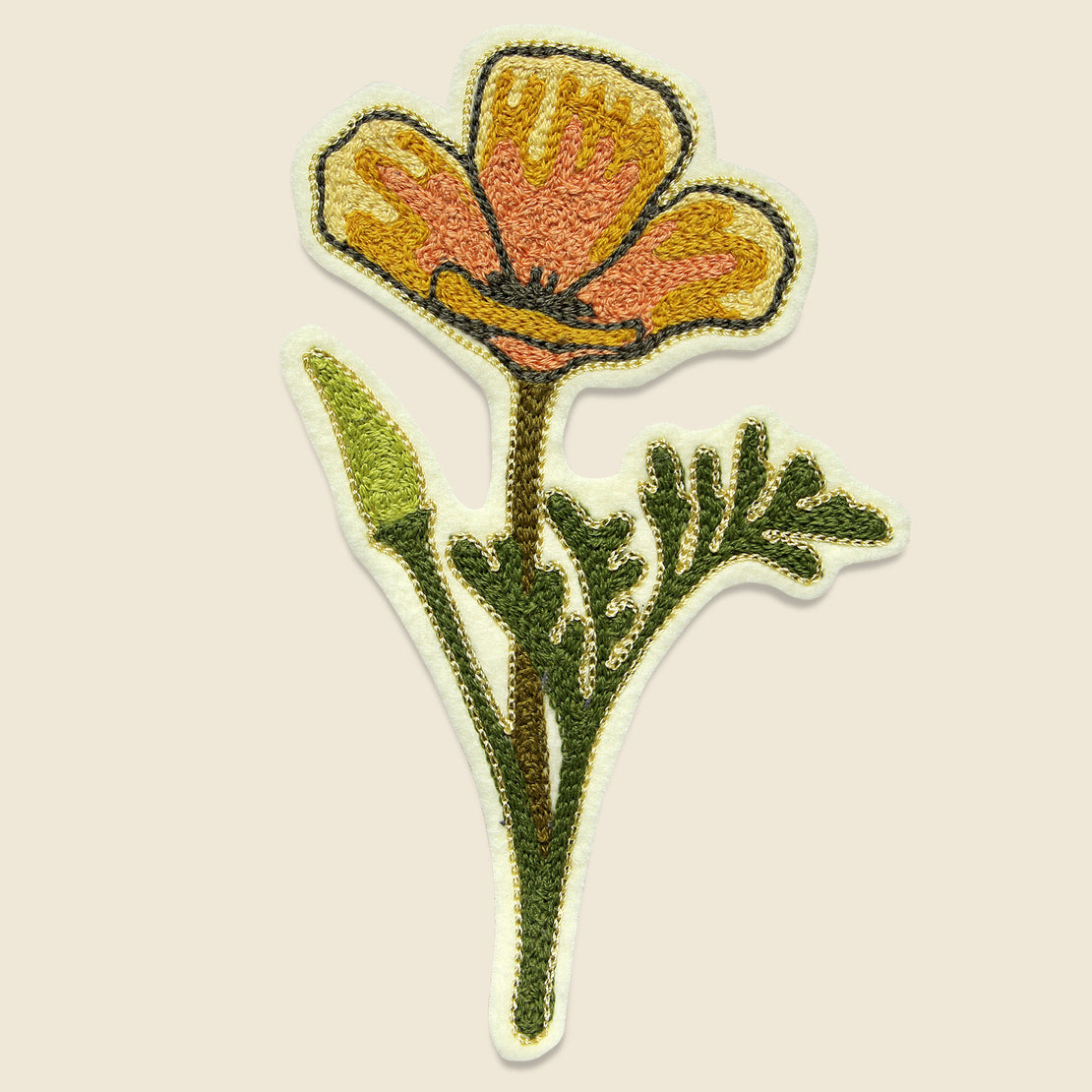 Fort Lonesome Patch - California Poppy