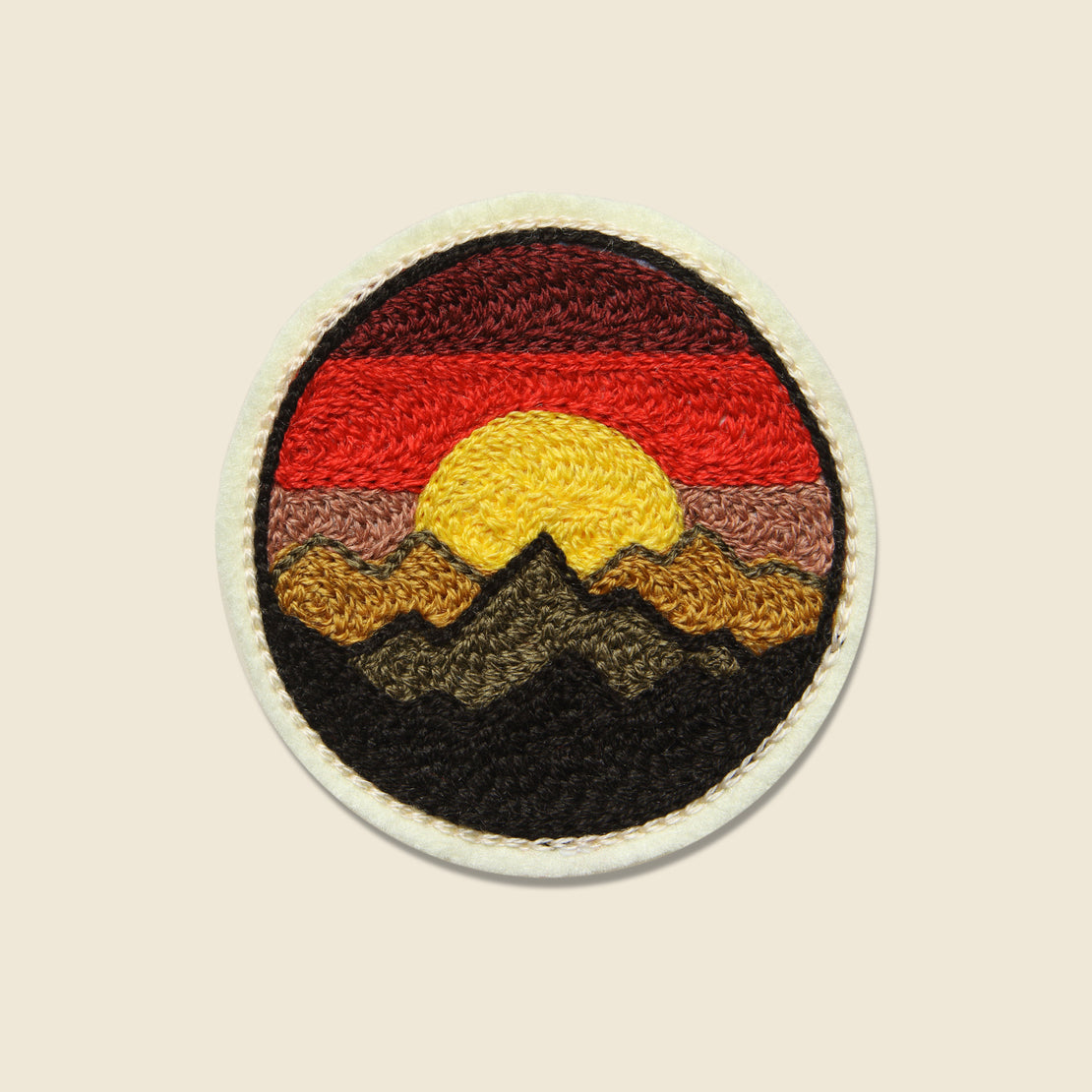 Fort Lonesome Patch - Mountain Sunset
