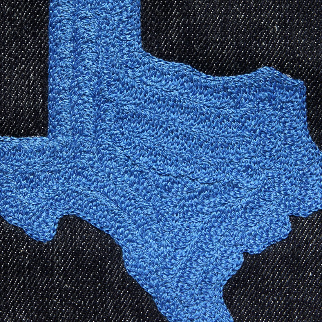 Small Direct Stitch Embroidery - State of Texas