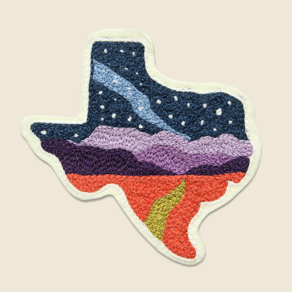 Fort Lonesome Patch - Texas State Skyline