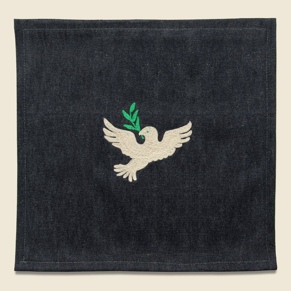Fort Lonesome Small Direct Stitch Embroidery - Peace Dove