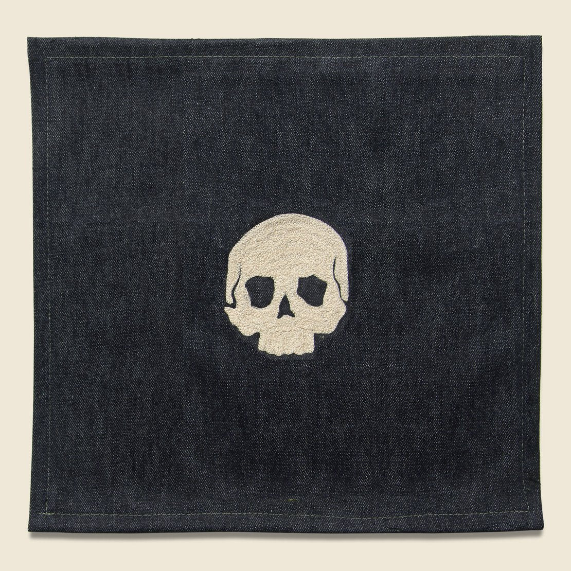Fort Lonesome Small Direct Stitch Embroidery - Skull