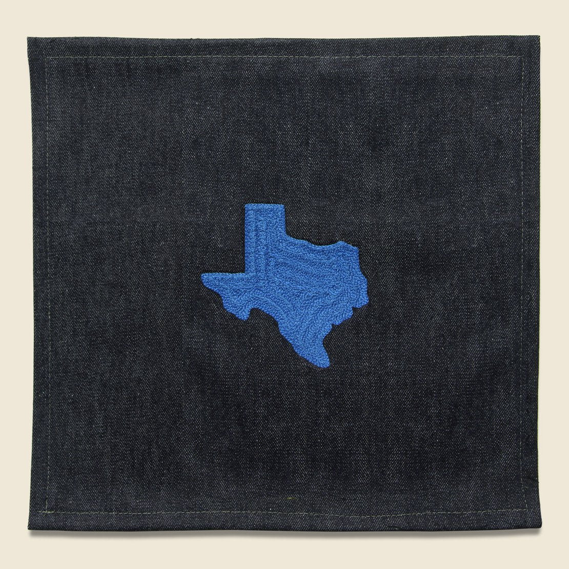 Fort Lonesome Small Direct Stitch Embroidery - State of Texas