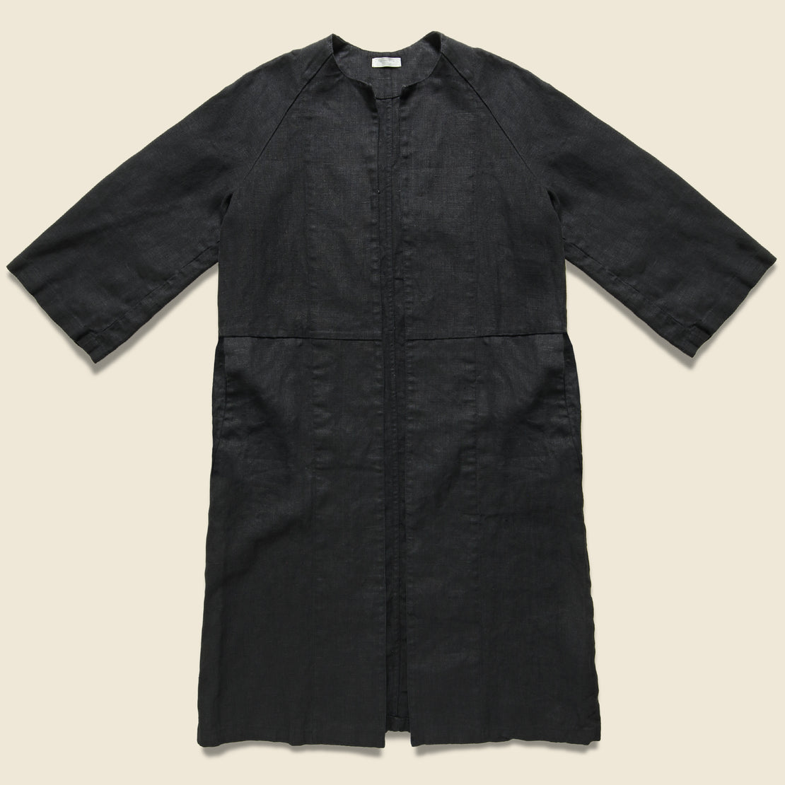 Fog Linen Linen Bette Coat - Graphite
