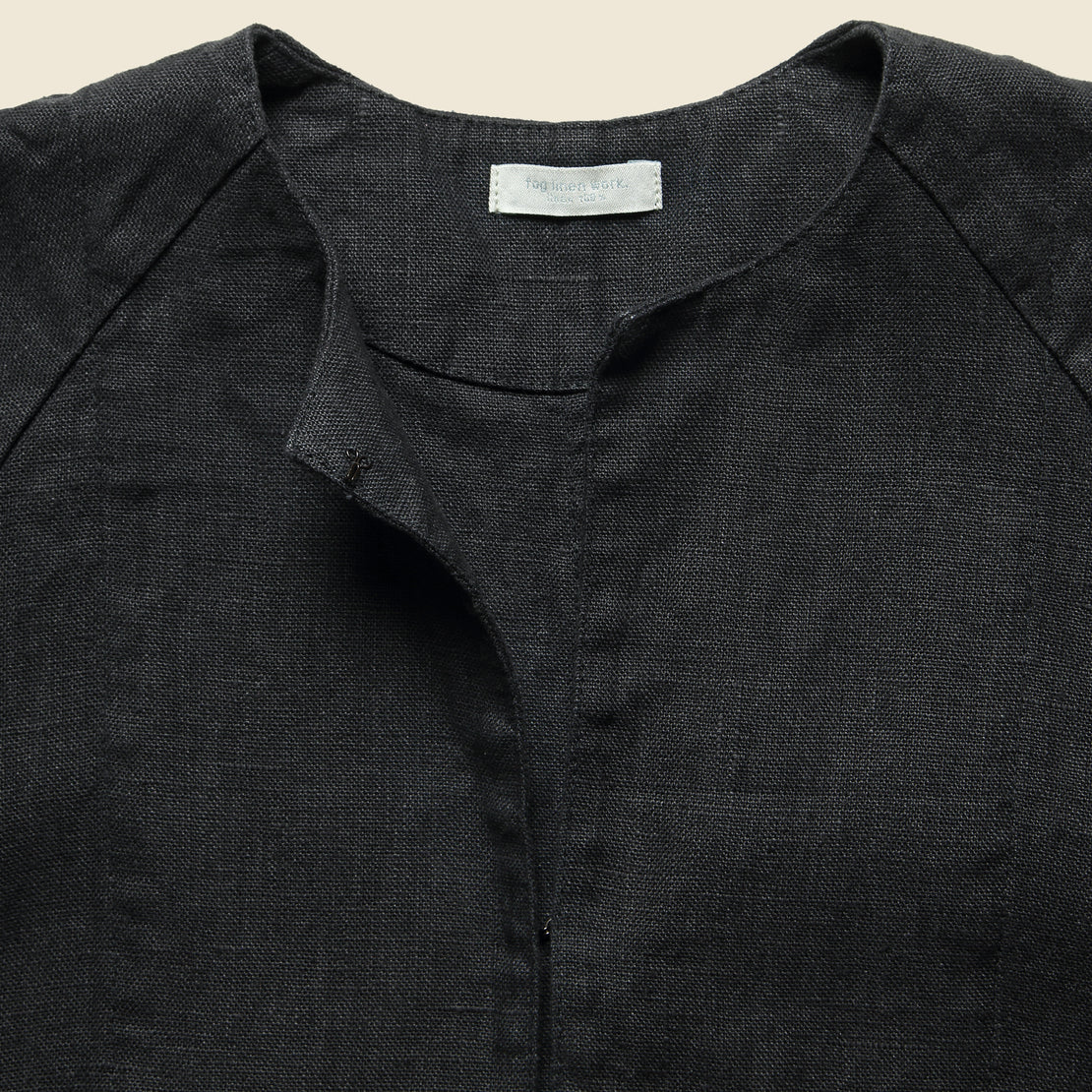 Linen Bette Coat - Graphite