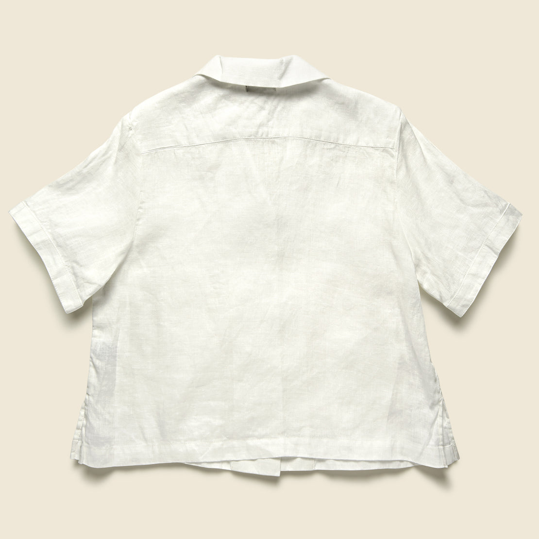 Front Pocket Shirt - White
