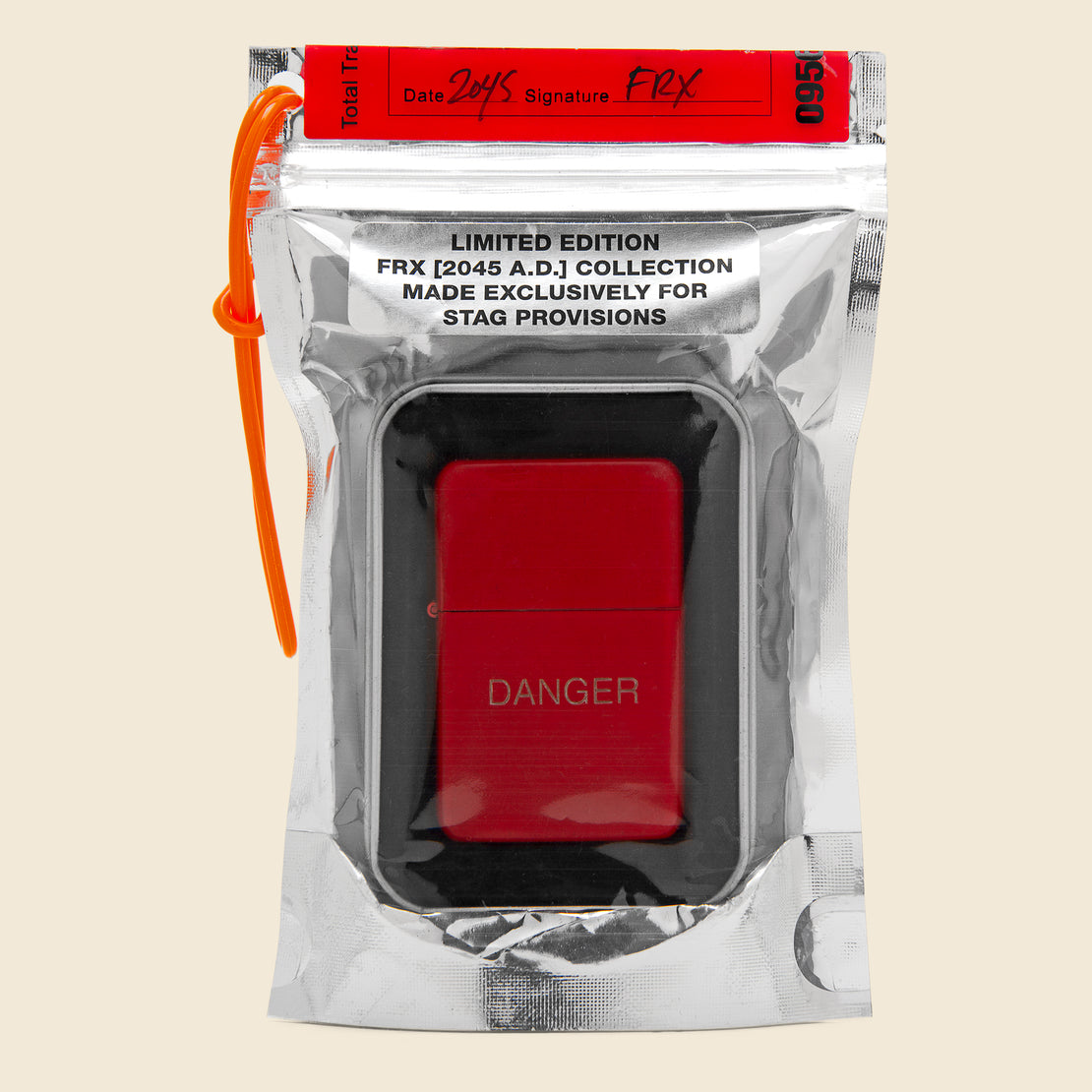 Field Rations Zippo Lighter - DANGER