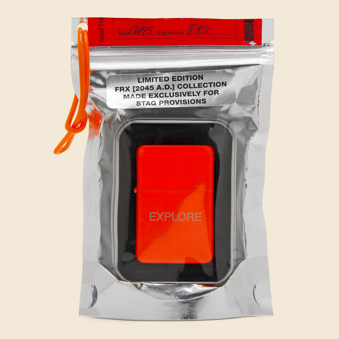 Field Rations Zippo Lighter - EXPLORE