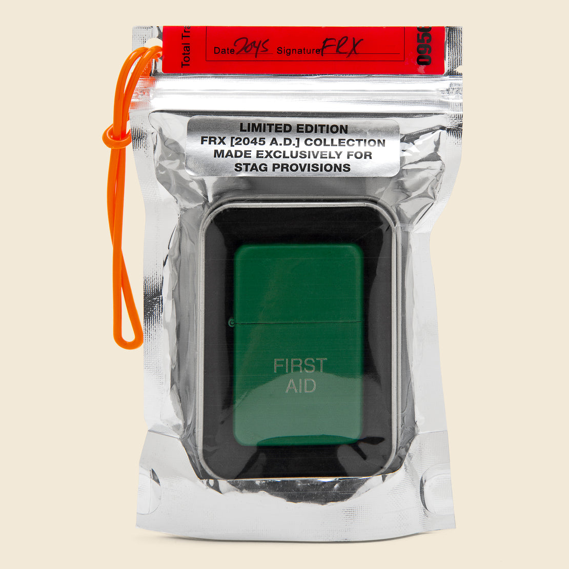 Field Rations Zippo Lighter - FIRST AID