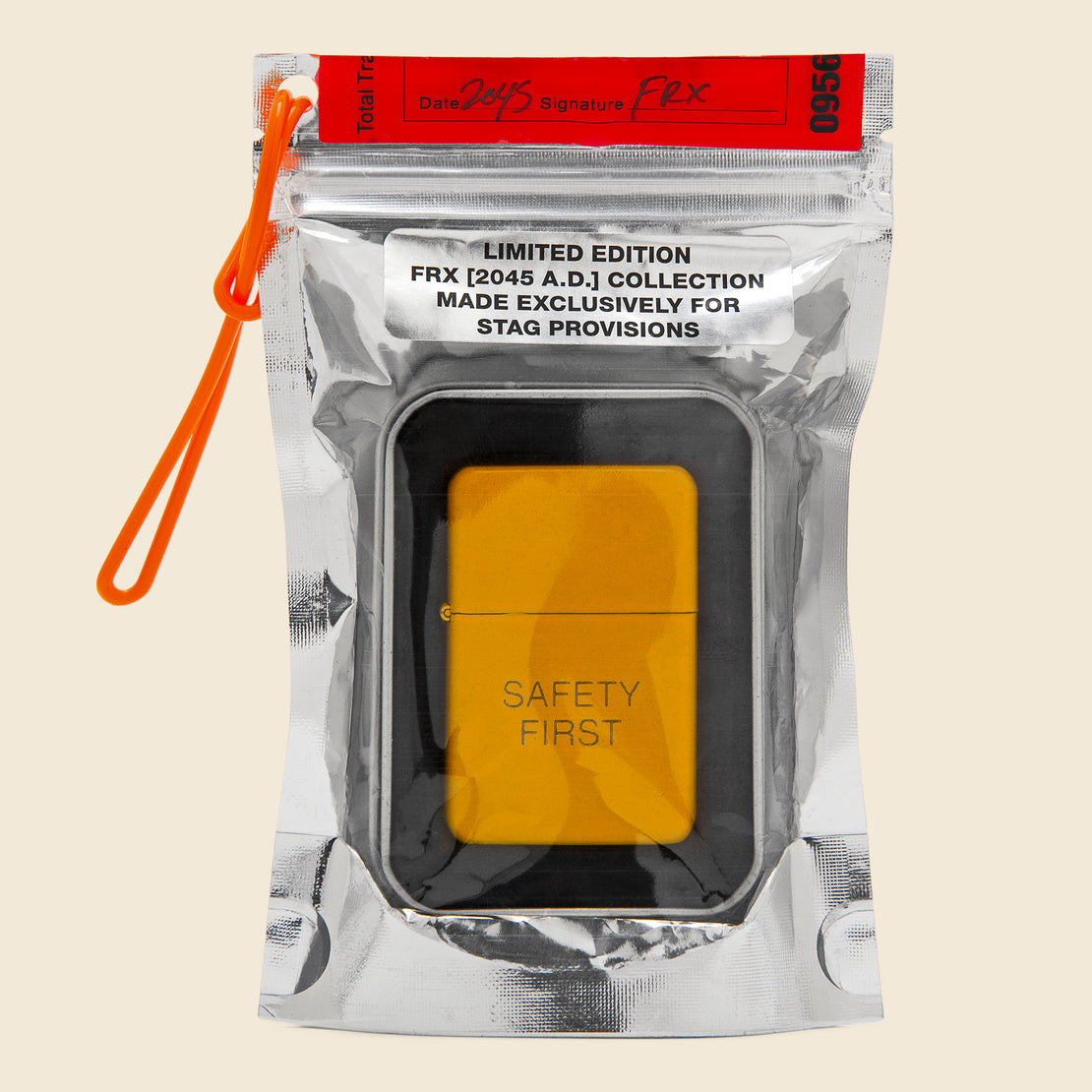 Field Rations Zippo Lighter - SAFETY FIRST