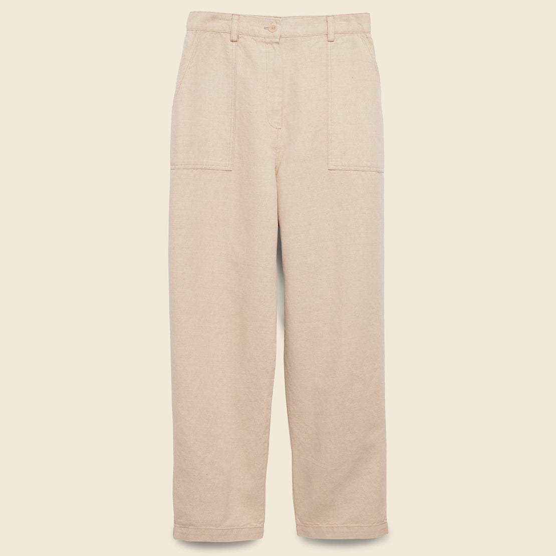 First Rite Narrow Cargo Pant - Natural
