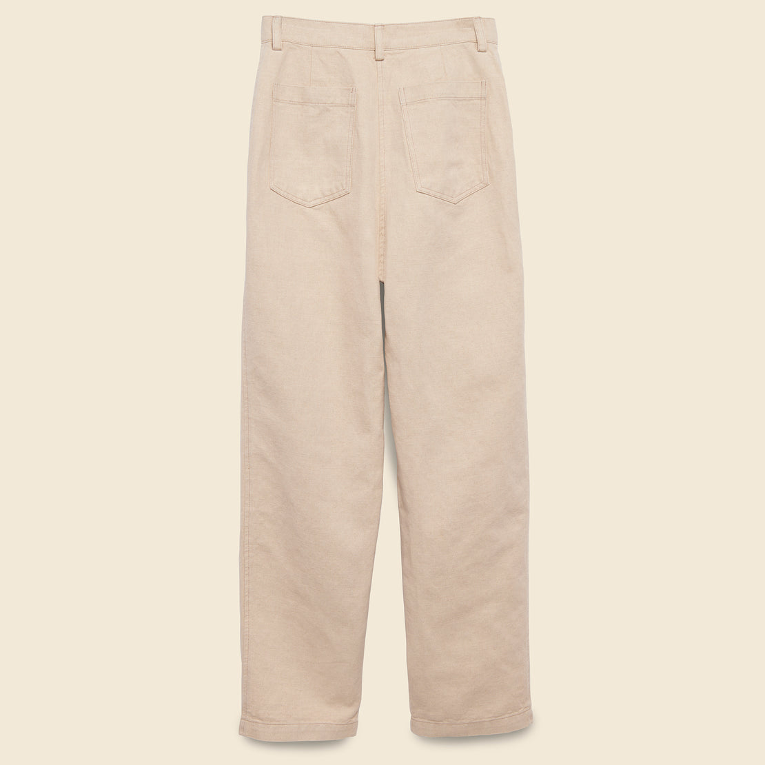 Narrow Cargo Pant - Natural