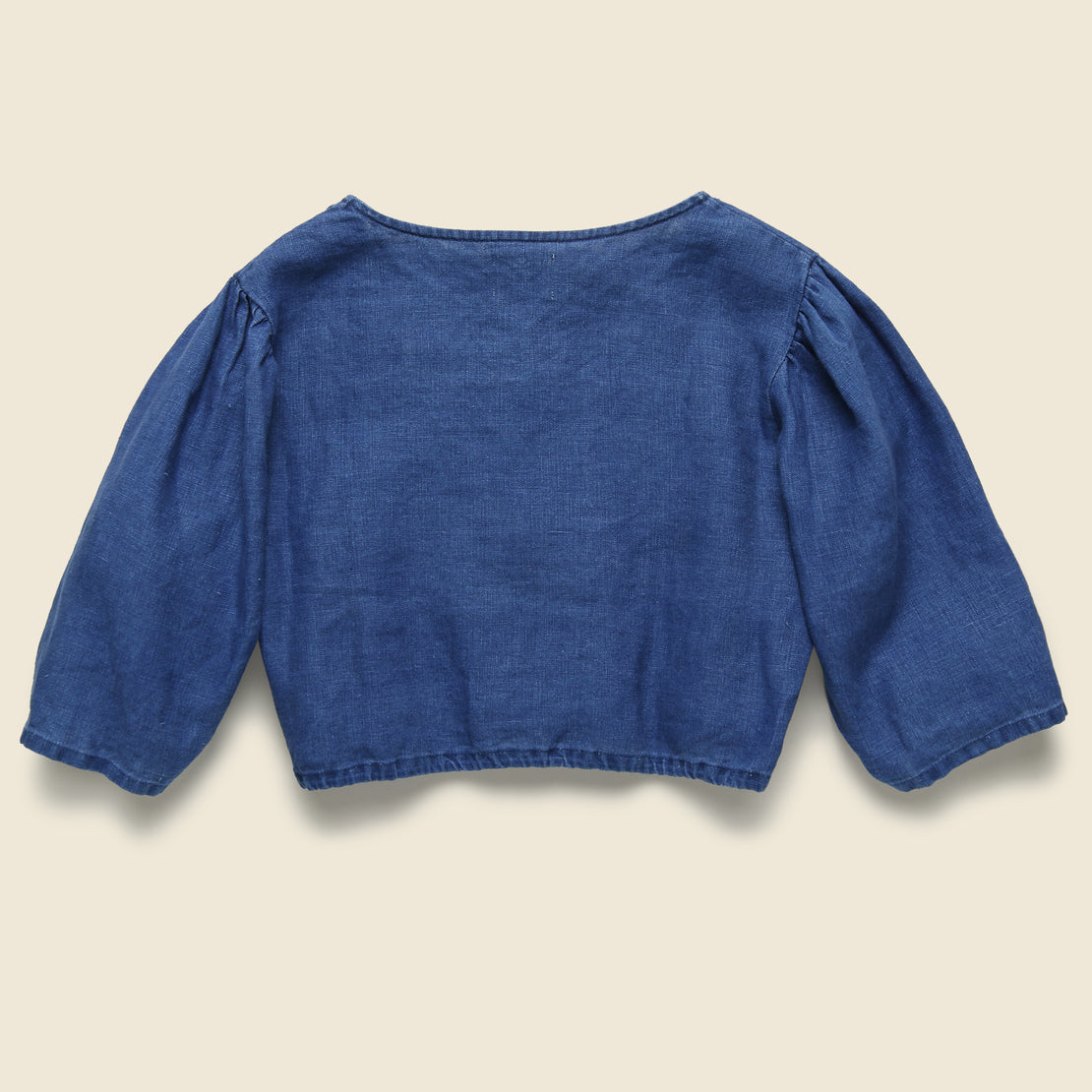 Button Blouse - Indigo