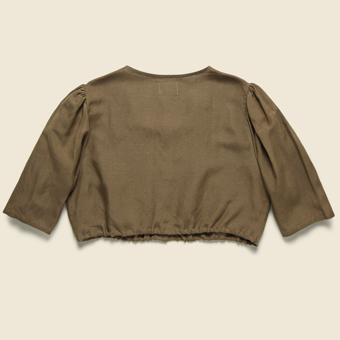 Button Blouse - Cocoa