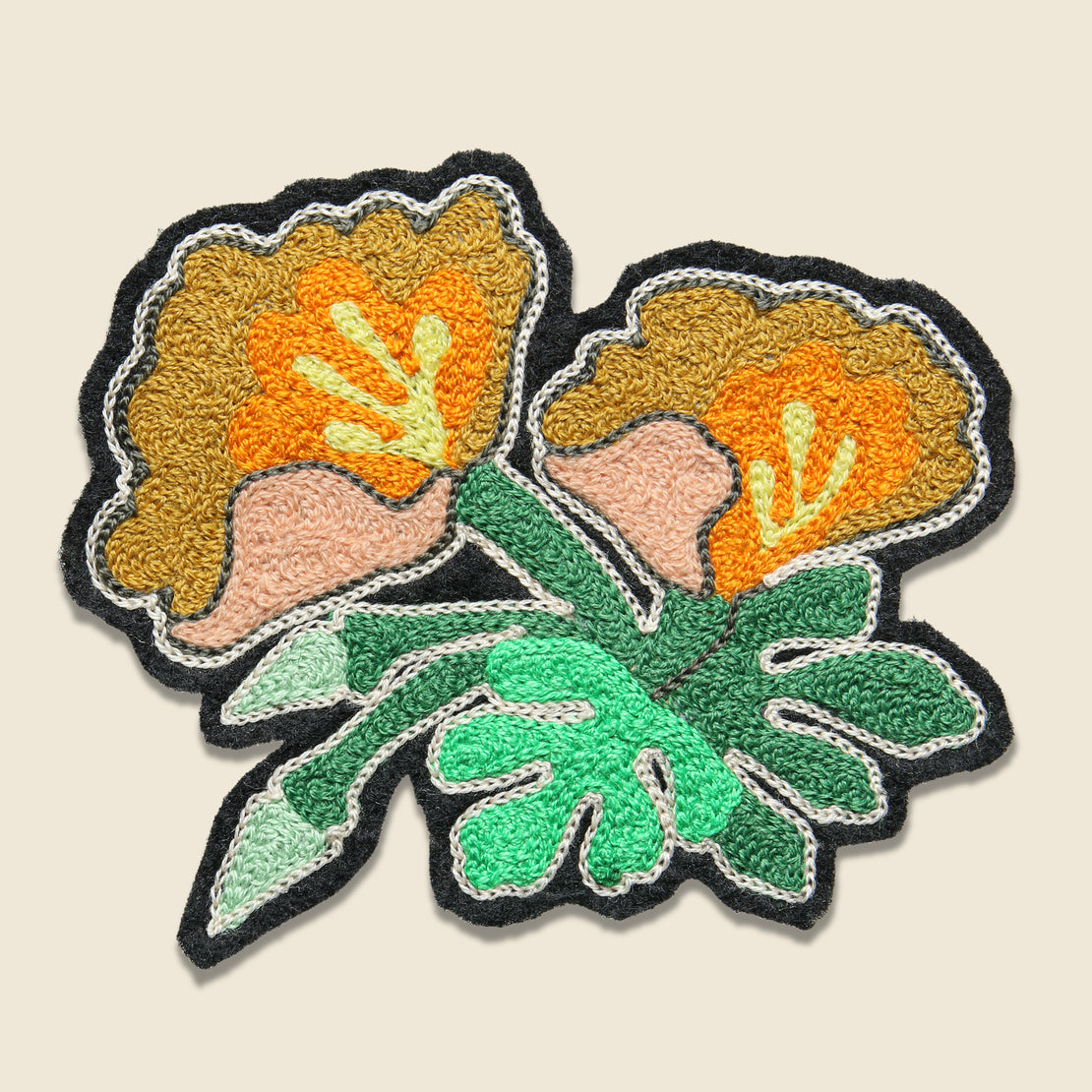 Fort Lonesome Patch - Double Poppies