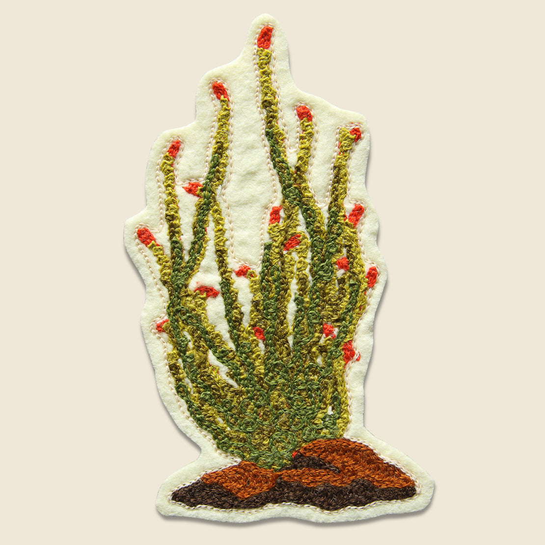 Fort Lonesome Patch - Ocotillo Cactus