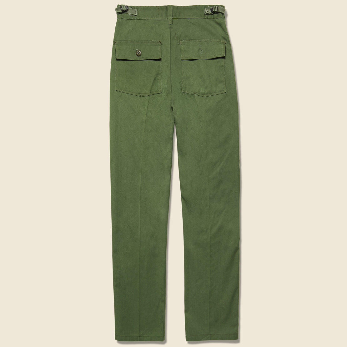 Floral Flourish Military Pant - Green