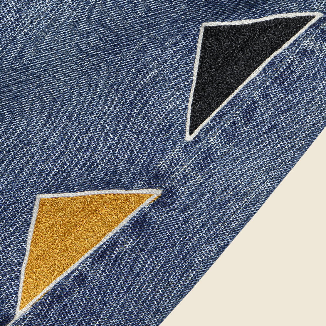 Triangle Pattern Levi's 501 Jean - Multi