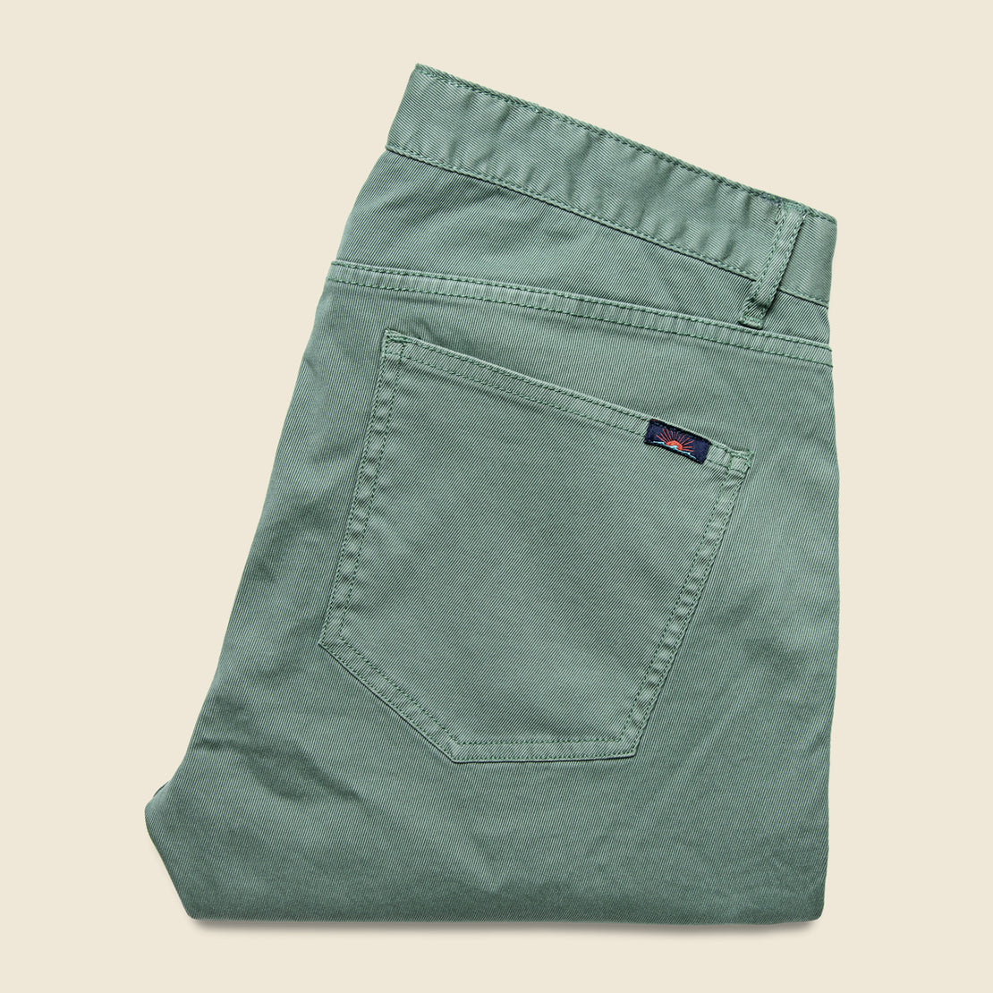 Faherty Cavalry Jean - Surplus Green