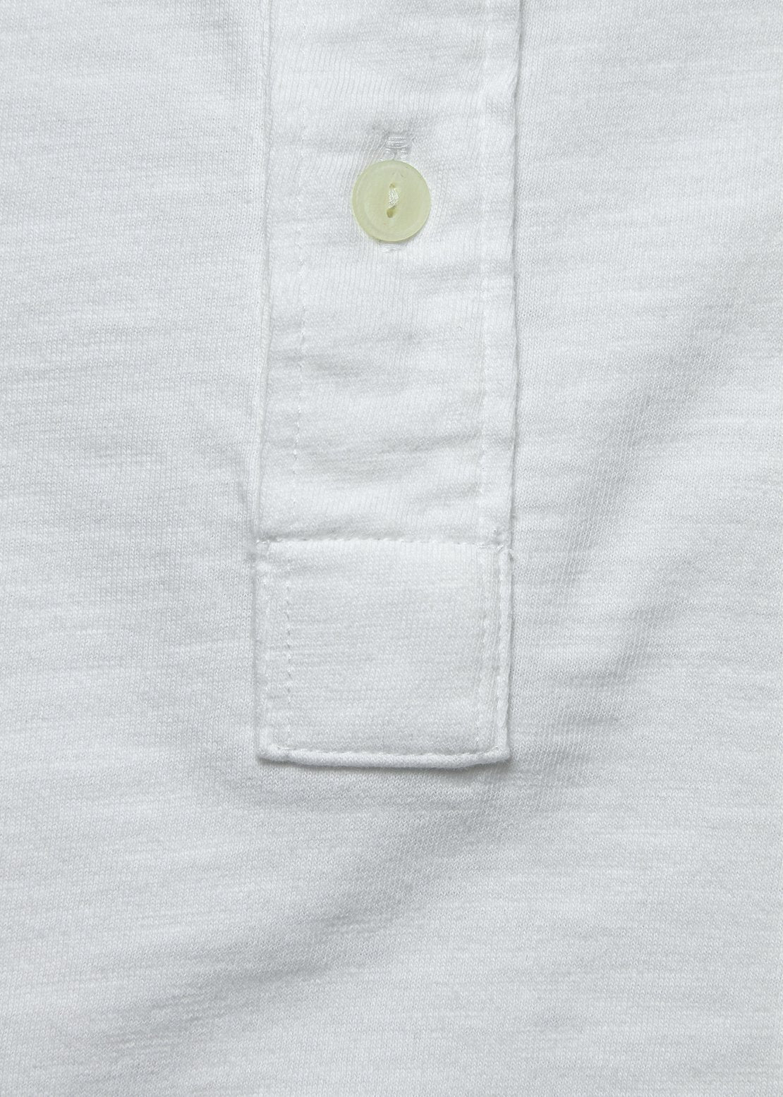 Garment Dyed Polo Shirt - White
