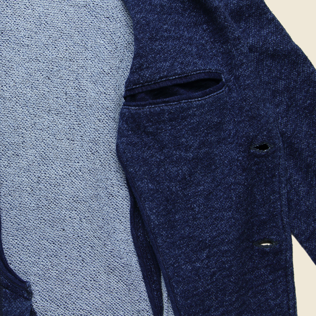 Marled Blazer - Indigo - Faherty - STAG Provisions - Suiting - Sport Coat